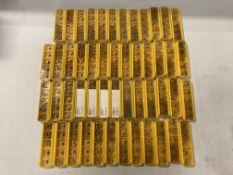 Lot of (250) New? Kennametal Carbide Inserts, P/N: TPMT3252LF