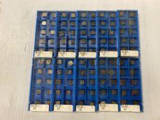 Lot of (100) New? Valenite Carbide Inserts, P/N: SEG-322 J VC2