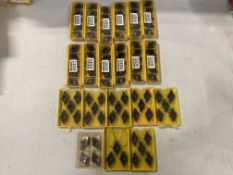 Lot of (97) New? Kennametal Carbide Inserts, P/N: DNGA543