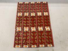 Lot of (150) New? Sandvik Carbide Inserts, P/N: DNMG 433-QM 4025