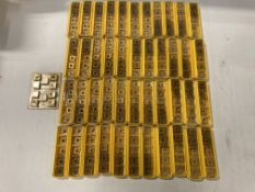 Lot of (230) New? Kennametal Carbide Inserts, P/N: SNMP432K