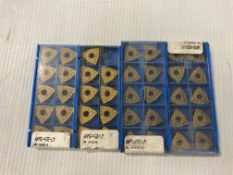 Lot of (39) New? Valenite Carbide Inserts, P/N: WNMG-432-LM SV310