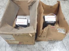 Lot of (2) Square D #S48182 Transformers