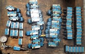 Huge Lot of Vickers Valves