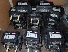 Lot of (17) Binzel #EWR-PRO units