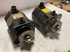 (2) Fanuc AC Servo Motor, M/N: a8/4000is