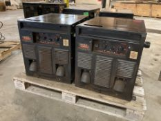 (2) Lincoln Electric Powerwave i400 Welders