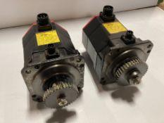 (2) Fanuc AC Servo Motor, M/N: aM8/4000i