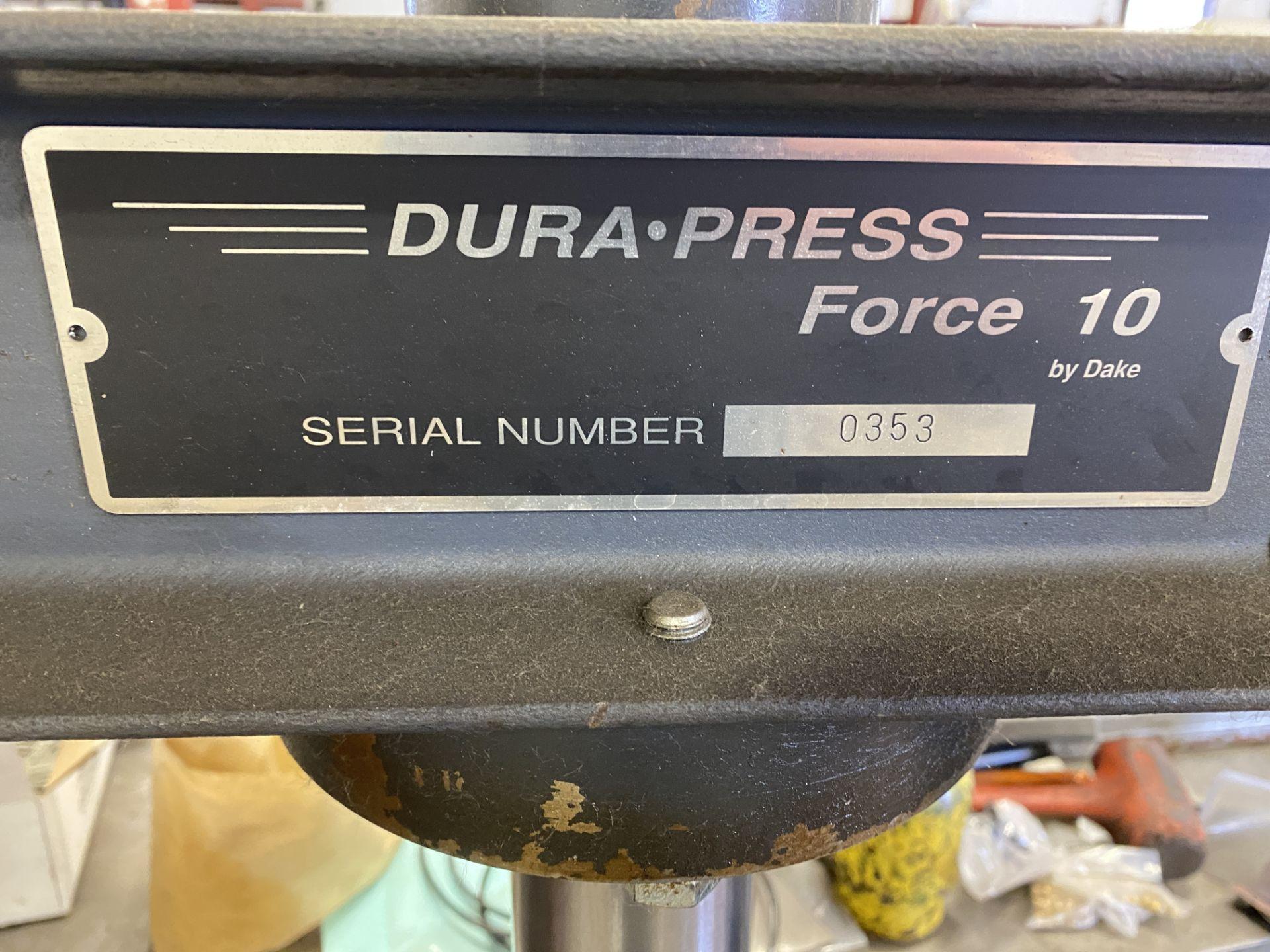 Dake 10 Ton H Frame Press - Image 4 of 5