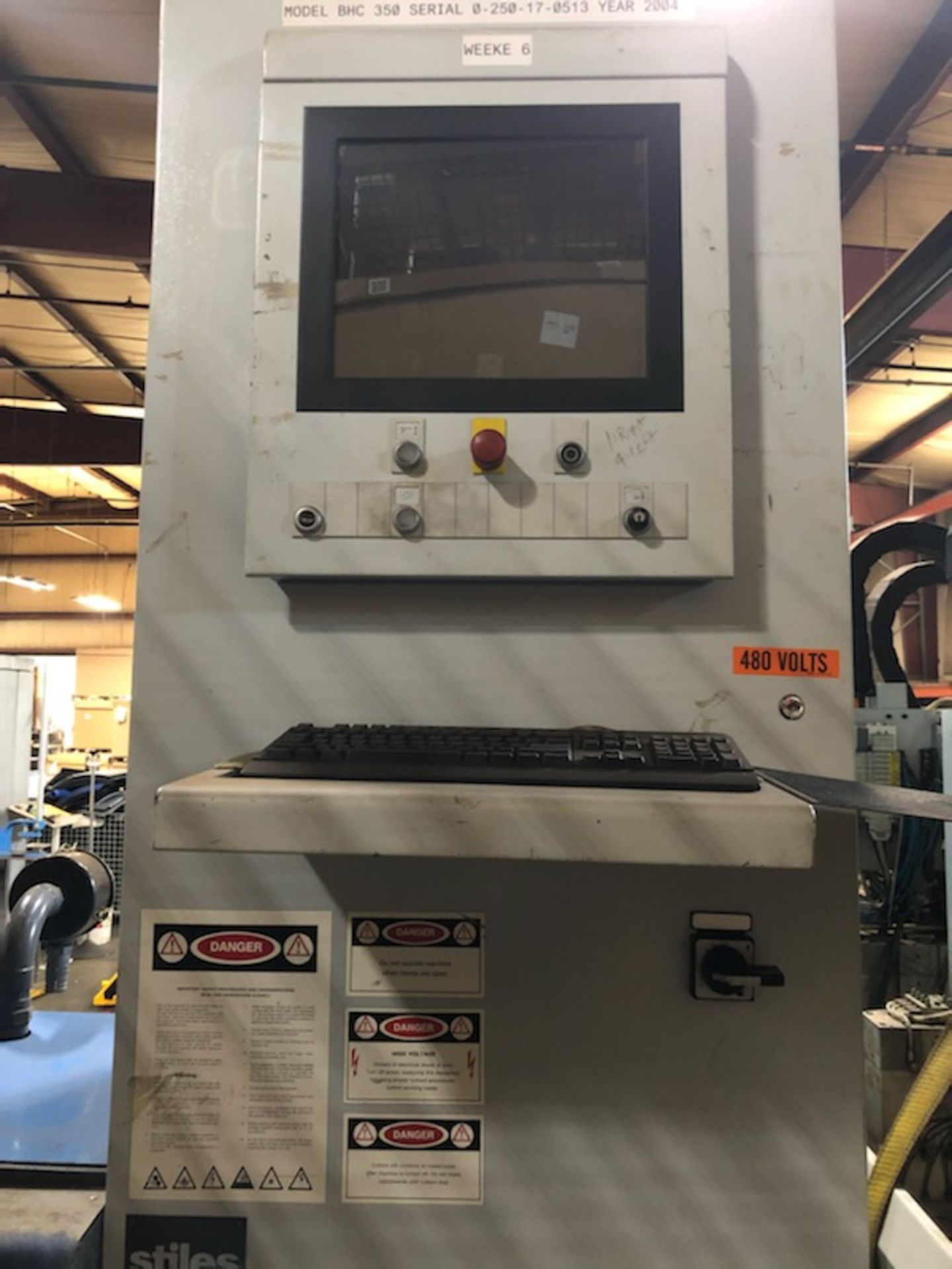 WEEKE BHC-350 Wood CNC MACHINING CENTER - Image 3 of 11