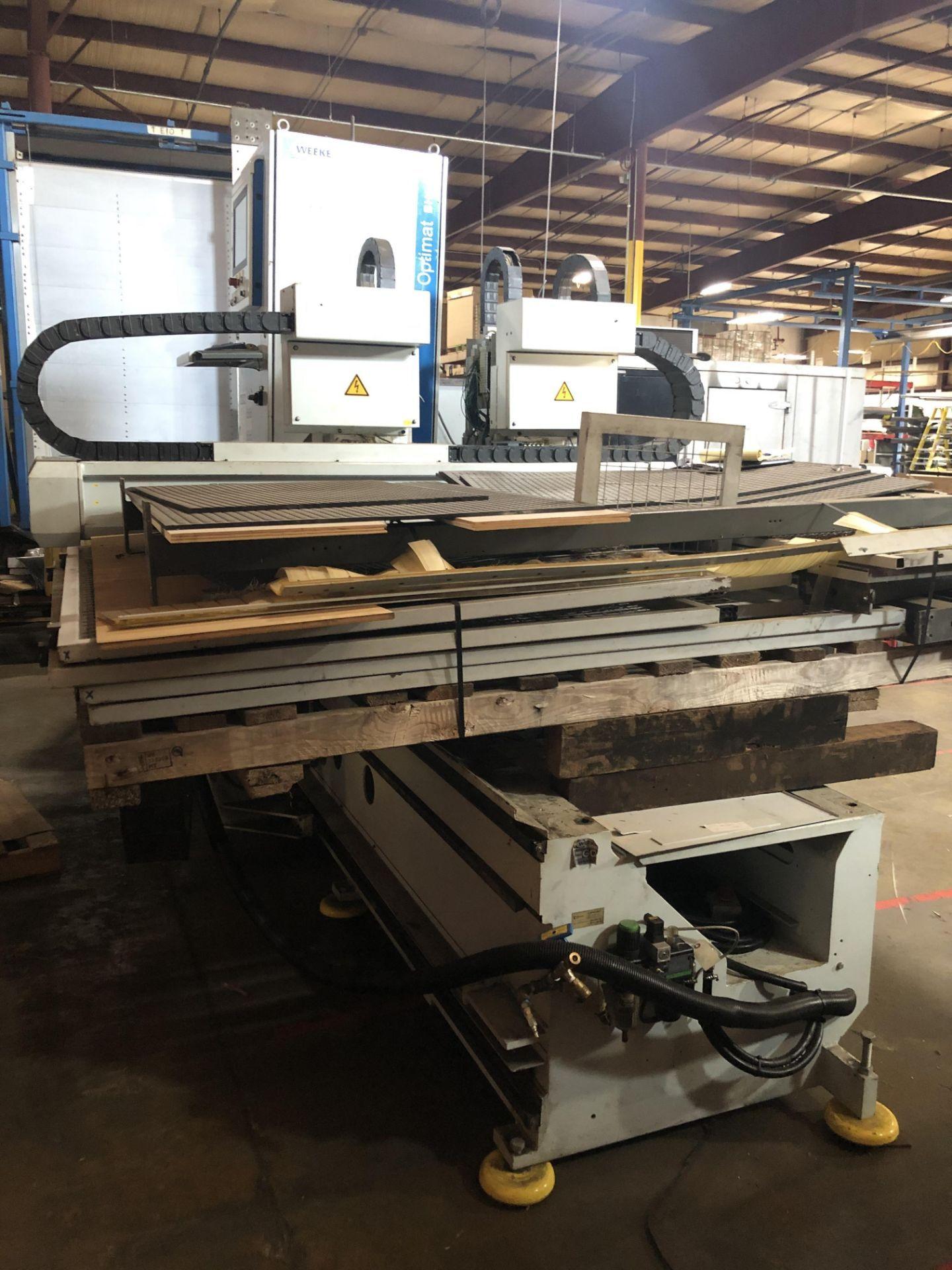 WEEKE BHC-350 Wood CNC MACHINING CENTER - Image 6 of 11