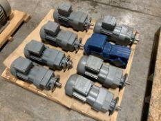 Lot of (8) SEW Motors