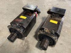 (2) Fanuc AC Spindle Motors, M/N: aA18