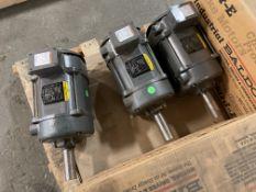 (3) Baldor 7.5HP Electric Motors