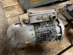 Nord 1HP AC Gear Motor