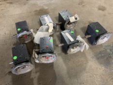 Lot of (7) Hub City Gear Reducers