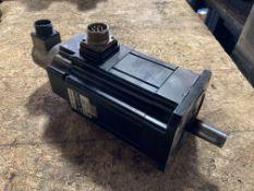 Mitsubishi Permanent Magnet AC Servo Motor, P/N: HA 80CB-SS