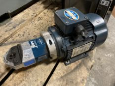 Leeson Metric Motor with Semtorq AD5 Gearbox