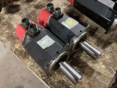 (2) Fanuc AC Servo Motors, M/N: 0S