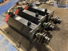 (3) Fanuc AC Servo Motors, M/N: 20S