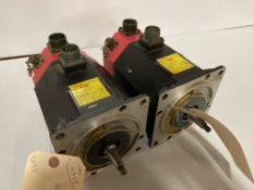 (2) Fanuc AC Servo Motors, M/N: 5F/3000
