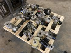 Lot of Bosch Gear Reducers with Bodine Motors