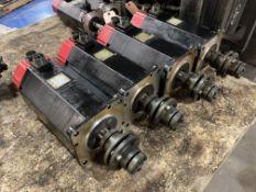 (4) Fanuc AC Servo Motors, M/N: 20S