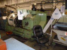 Okuma LB-25 CNC Turning Center, w/ Chuck & Tailstock, Mfg'd: 1993