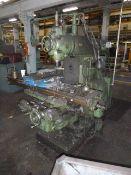 #3CH Kearney & Trecker Univ. Hor Milling Machine, Univ Head, 3 Axis DRO