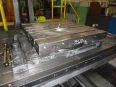 """36"""" x 36"""" Giddings & Lewis Hydrostatic Rotary Table on 5"""" G & L HBM"""