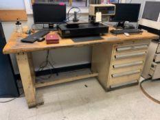 "30"" x 72"" Kennedy 5 Drawer Cabinet / Work Bench Combination"
