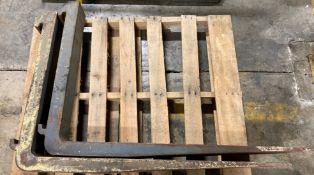 Set of 4' Lift Truck Forks