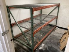 (1) Section of Heavy Duty Pallet Racking