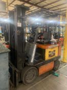 Toyota 5,000 Lb Electric Lift Truck w/ Battery, Mod# 5FBCU25, LATE DELIVERY