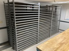 """Lot of (6) Sections of 48"""" x 18"""" x 87"""" Shelving"""