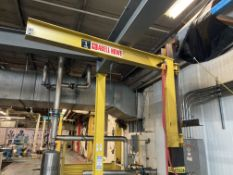 Abell - Howe 1 Ton Beam Mounted Jib Crane