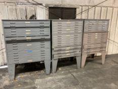 (3) Mayline Drafting Room Cabinets