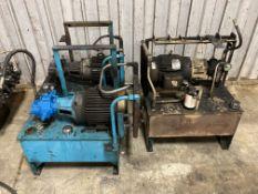 Lot of (3) Hydraulic Units
