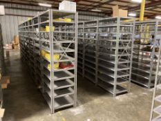 Lot of (74) Sections of Shelving