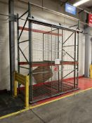 Heavy Duty Pallet Racking with Cage