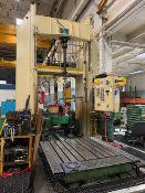 "Siemens 60"" Travel Custom Built Vertical Honing Machine, w/ Infeed Table"