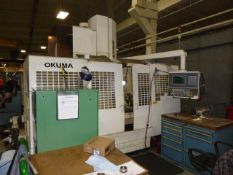 Okuma MC-50VA Vertical Machining Center w/ 4th Axis