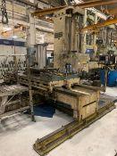 "5"" Cincinnati-Gilbert Horizontal Boring Mill w/ Fagor Controller"