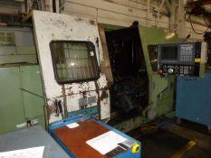 Okuma LC40 Simulturn CNC Lathe, Twin Turret, W/ Tailstock