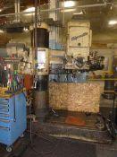 """5' x 13"""" Giddings & Lewis Chipmaster Radial Drilling Machine"""