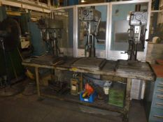 3 Spindle Clausing Drill Press
