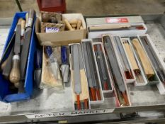 Lot of NEW Precision Cut Files and Handles