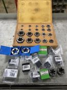 Lot of New and Used Hexagon Re-Threading Dies