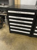 6 Drawer Tooling Cabinet w/Contents