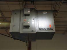 UAS Smog-Hog Model SG-4S-H-OPER 20 5 HP Mist & Fume Collector